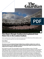 West Ham's Olympic Stadium Deal Explained_ From Water City to the London Stadium _ Sport _ the Guardian