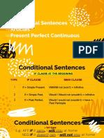 Ppt - Conditional Sentences, Articles, Present Perfect Continuous