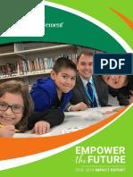 Junior Achievement of Wisconsin Impact Report