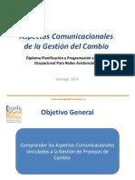 Aspectos Comunicacionales de la Gestion de Cambio
