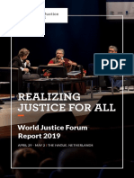 World Justice Project ForumReport October 2019