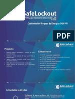 Safelockout, bloqueo y aislación de Nueva Victoria