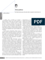 O Nutricionista e as Politicas Publicas CFN