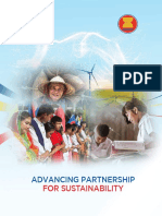 Advancing partnership for sustainability