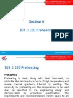 2- Preheat PWHT