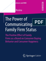 (Familienunternehmen und KMU) Rosina, Margarete - The Power of Communicating the Family Firm Status The Positive Effect of Family Firms as a Brand on Consumer Buying Behavior and Consumer Happiness (2.pdf