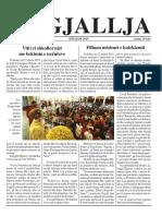 """Gazeta """"Ngjallja"""" Shtator 2019"""
