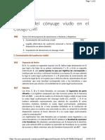 14. Legítima Del Cónyuge Viudo en El Código Civil