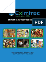 Eximtrac Daily Care Product List