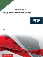 Using Revenue Management