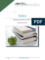 Indice de bloques prácticos 17-18