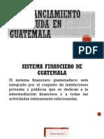 Presentación Financiamiento con Deuda en Guatemala