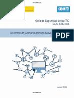 CCN-STIC 496 - Sistemas de Comunicaciones Moviles