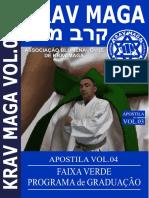 APOSTILA REQUESITOS PARA FAIXA VERDE DE KRAV MAGA