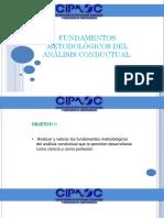Fundamentos metodológicos del análisis conductual