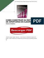 eBook Como Construir Su Repertorio de Aperturas en Ajedrez Steve Giddins PDF Free OTc4ODQ5MzQ3ODY4MS8xMTExNDQ3