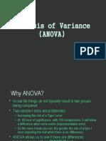 ANOVA Presentation1