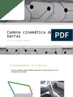 Cadena Cinematica de 4 Barras