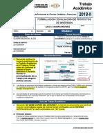 Trabajo de Formulacion y Evalucion de Proyectos de Inversion