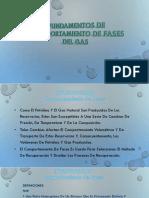 Fundamentos de comportamiento de fases de Gas