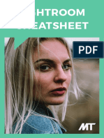 Lightroom Cheatsheet by MT Journal
