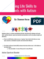 teaching life skills to students with autism