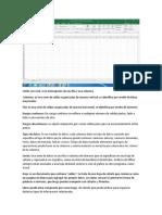 Celda Excel