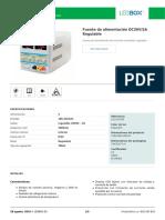Fuente de Alimentación DC30V_5A Regulable