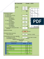 Concrete Mix Design Excel Software