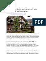 características de uma casa japonesa