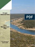 Kruger national park 10 year plan