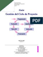 6.EuropeAid, 2002, Guía de Gestión Del Ciclo Del Proyecto