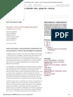 Principios y Valores Del Paradigma Emergente