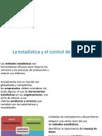 3. La estadística y el control de procesos