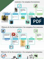 Historia de Las Herramientas y Las Máquinas Herramientas
