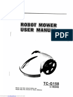 Tianchen robot mower