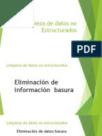 1.3.2 Limpieza de Datos NO Estructurados