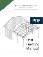 Rowan County Post Framing Manual v1 0
