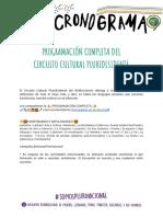 Circuito cultural en el 34° Encuentro Feminista de La Plata