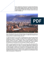 La Ciudad de Cuzco