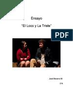 Ensayo Jose