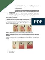 Guía examen periodoncia