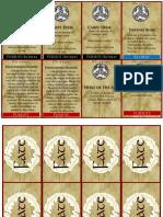 Dux Arda Rohan Cards