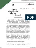 Reforma Laboral Peña
