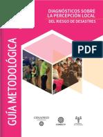 Guia Metodologica Pecepcion Riesgo Local