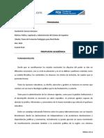 Programa de Legislación PDF