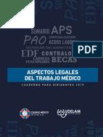 ASPECTOS LEGALES DEL TRABAJO MEDICO 2019.pdf
