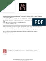 Paralelismos transatlánticos. Textualidad femenina en América Latina y África del Norte
