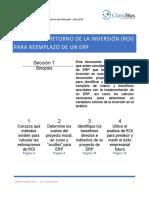 Analisis ROI Para Reemplazo De Un ERP