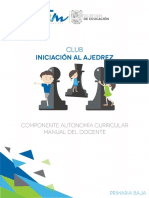 Iniciacion Al Ajedrez Material Docente Prim Baja